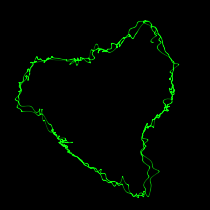 Drawing Lines Webgl : How to draw oscilloscope lines with math and webgl m el